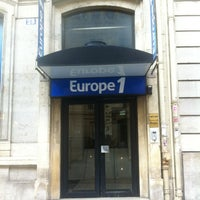 Photo taken at Europe 1 by Youri on 8/20/2012