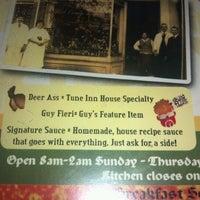 Photo taken at Tune Inn Restaurant & Bar by Michael J. V. on 4/16/2012