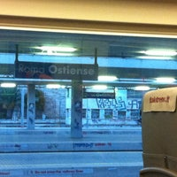Photo taken at Roma Ostiense Railway Station (IRR) by Claudia F. on 7/17/2012