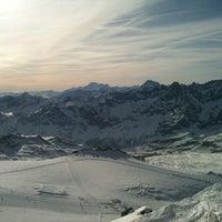 Photo taken at Matterhorn Glacier Paradise by Eudo on 3/14/2012