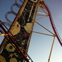Photo taken at Hollywood Rip Ride Rockit by Elise W. on 3/19/2012