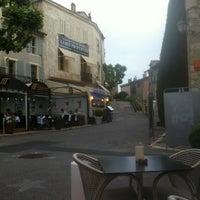 Photo taken at La Place de Mougins by Dmitry B. on 6/1/2012