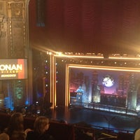 Photo taken at CONAN Chicago @ Chicago Theater by Ryland D. on 6/14/2012