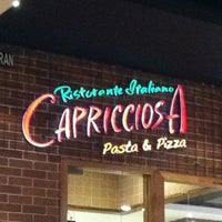 Photo taken at Capricciosa Pasta & Pizza by Rosha on 4/17/2012