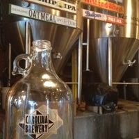 Photo taken at Carolina Brewery by Doris T. on 7/8/2012