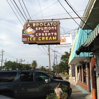 Photo taken at Angelo Brocato's by April B. on 5/15/2012