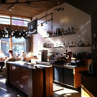 Photo taken at Four Barrel Coffee by Jamie Y. on 4/5/2012