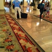 Photo taken at Omni Shoreham Hotel by Dominic S. on 3/31/2012