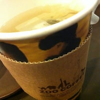 Photo taken at ZOO COFFEE by junghwa c. on 4/15/2012