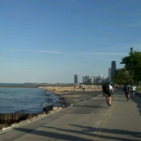 Photo taken at Chicago Lakefront Trail by Kayce A. on 6/8/2012
