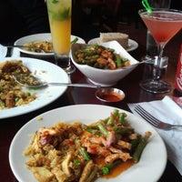 Photo taken at My Thai Restaurant by Mauricio on 4/22/2012