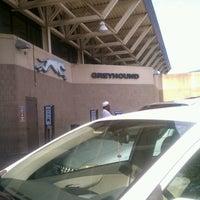 Photo taken at Greyhound Bus Station by Ms.Kane K. on 8/11/2012