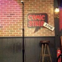 Photo taken at comic strip live by Matthew M. on 5/22/2012