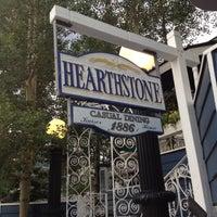 Photo taken at Hearthstone Restaurant by Checker on 7/23/2012
