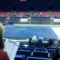 Photo taken at McKale Center by Alison P. on 2/18/2012