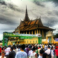 Photo taken at Royal Palace, Phnom Penh by Eduardo D. on 6/16/2012