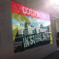 Photo taken at Cotton On Clearance Outlet by Lady Poï$on C. on 5/13/2012