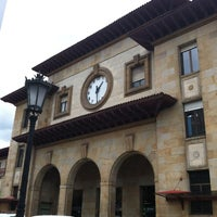 Photo taken at Estación de Oviedo by Moisés C. on 4/23/2012