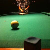 Photo taken at Society Billiards + Bar by P.J. C. on 8/9/2012