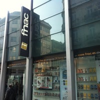 Photo taken at Fnac by Grace O'Malley's I. on 3/12/2012