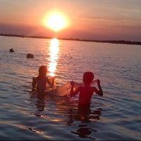 Photo taken at Playa Punta Norte by Marcelo C. on 3/17/2012