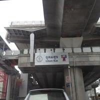 Photo taken at BTS Udom Suk (E12) by monday O. on 5/30/2012