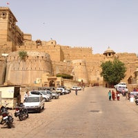 Photo taken at Jaisalmer Fort by Ankush V. on 8/3/2012