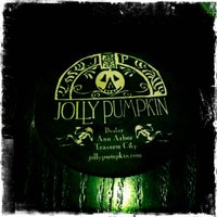 Photo taken at Jolly Pumpkin Cafe & Brewery by Rachel on 5/20/2012
