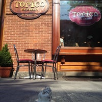 Photo taken at Torico's Homemade Ice Cream Parlor by Stephen M. on 7/4/2012