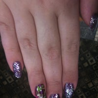 Photo taken at 1st Pro Nails by Lenore F. on 7/6/2012