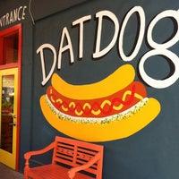 Photo taken at Dat Dog by Warren V. on 8/2/2012