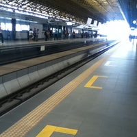 Photo taken at LRT 2 (Araneta Center-Cubao Station) by Ryneil R. on 3/10/2012