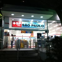 Photo taken at Drogaria São Paulo by Ivan M. on 3/13/2012