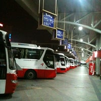 Photo taken at Central City Bus Terminal by Hyungmin P. on 3/26/2012