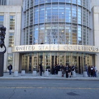 Photo taken at Theodore Roosevelt Federal Courthouse (U.S. District Court) by Charles D. on 4/6/2012