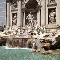 Photo taken at Piazza di Trevi by moriken 🐷 on 7/30/2012