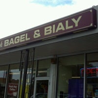 Photo taken at New York Bagel & Bialy by Scott H. on 8/20/2012