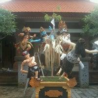 Photo taken at Banjar Penopengan - Sanur by Gusi Nyoman G. on 3/15/2012
