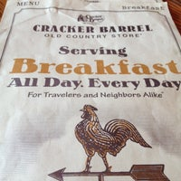 Photo taken at Cracker Barrel Old Country Store by MinaMina on 7/4/2012