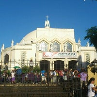 Photo taken at National Shrine of Our Lady of Peace and Good Voyage (Antipolo Cathedral) by Joe I. on 4/6/2012