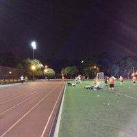Photo taken at McCarren Park Track by Alex K. on 7/13/2012