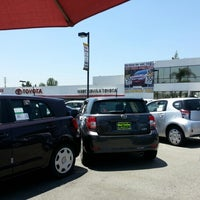Photo taken at Penske Toyota of West Covina by Kate *SuperKate* M. on 7/27/2012