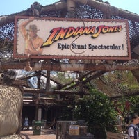 Photo taken at Indiana Jones Epic Stunt Spectacular! by Skip E. on 5/12/2012