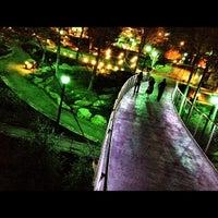 Photo taken at Liberty Bridge by Josh M. on 3/26/2012