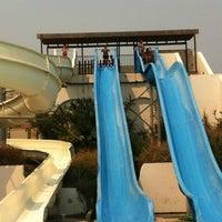 Photo taken at Aqua Fun Water Park Naxos by George M. on 8/18/2012