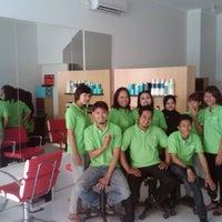 Photo taken at New Lynn Salon & Hair Studio by Geeme Glad 黃. on 6/7/2012