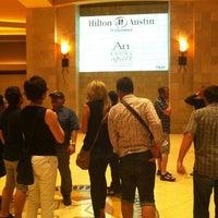 Photo taken at Hilton Austin by Jeremy K. on 7/9/2012