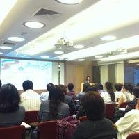 Photo taken at PTT Head Office by Finny S. on 8/22/2012