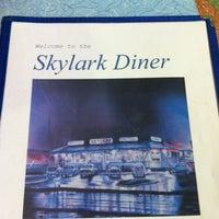 Photo taken at Skylark Diner by Brien on 8/18/2012
