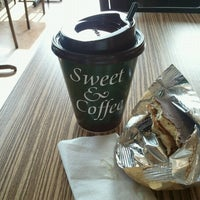 Photo taken at Sweet & Coffee by Jorge D. on 6/12/2012